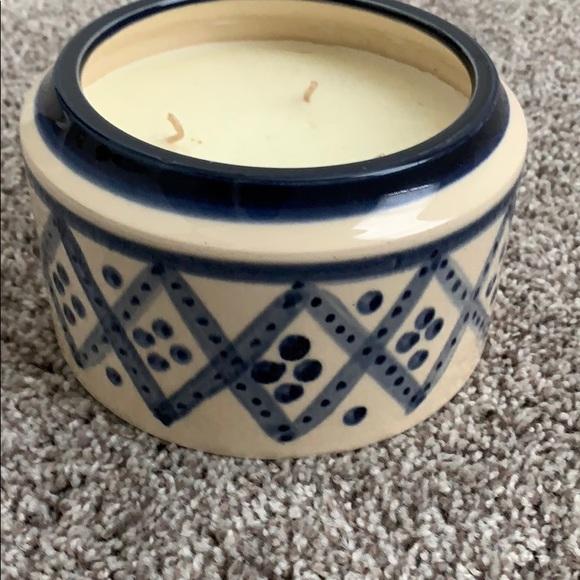 Potterybarn candle